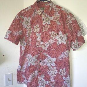 Short Sleeve Tropical Button Shirt
